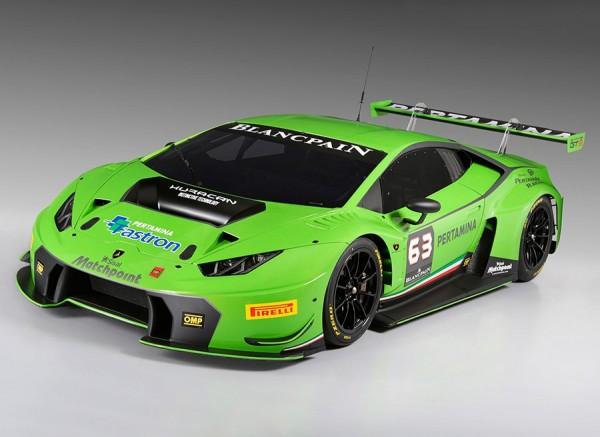 Nuevo Lamborghini Huracan GT3 2015