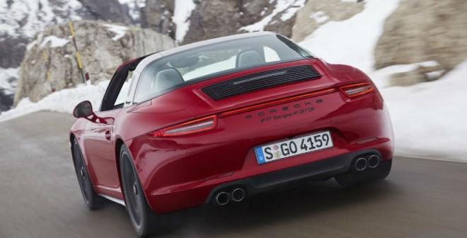 El nuevo Porsche 911 Targa 4 GTS llega a España en marzo.