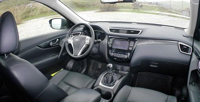 Prueba Nissan X-Trail 1.6 dCi 130 CV 4WD Tekna 2014, interior, Rubén Fidalgo