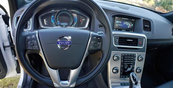 Prueba Volvo V60 Plug In Hybrid 2014, interior, Rubén Fidalgo