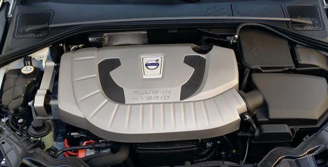 Prueba Volvo V60 Plug In Hybrid 2014, motor, Rubén Fidalgo