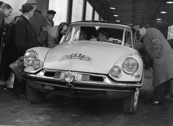 Rally Montecarlo Citroen DS 1968