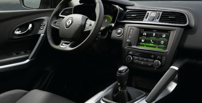 El nuevo Renault Kadjar contará con la última evolución del sistema R-Link.