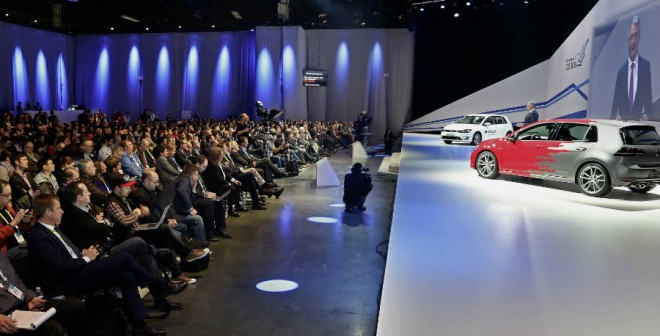 Volkswagen presenta en Las Vegas lo último de su tecnología.