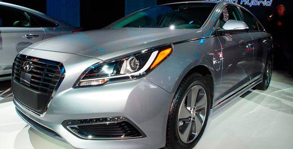 Hyundai Sonata híbrido enchufable, preparado para Detroit