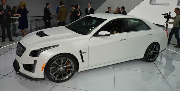 El nuevo Cadillac CTS-V llegará a Europa en 2016
