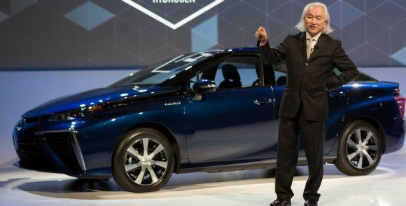 Toyota en el CES: liberación de la pila de combustible