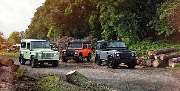 Así se celebra el aniversario del mítico Land Rover Defender