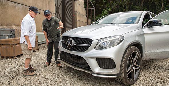 El Mercedes GLE Coupé 2015, protagonista en Jurassic World