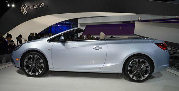 Nuevo Buick Cascada en Detroit 2015 con la base del Opel Cabrio