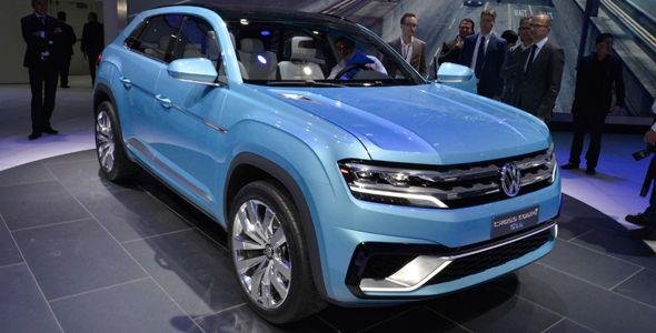 Volkswagen Cross Coupé GTE, SUV híbrido enchufable en Detroit