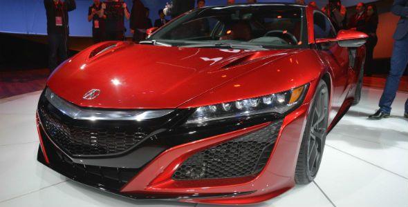 Honda NSX, la joya japonesa renace en el Salón de Detroit