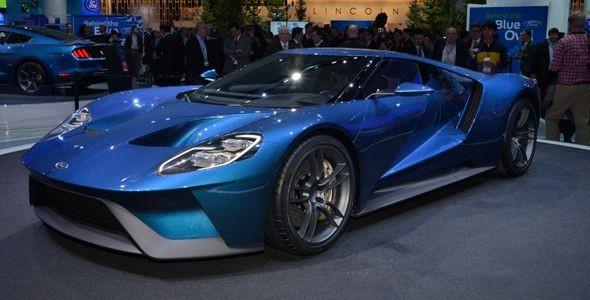 Ford GT: la vuelta del mito, presentada en Detroit 2015