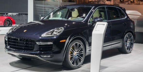 Nuevo Porsche Cayenne Turbo S, en Detroit