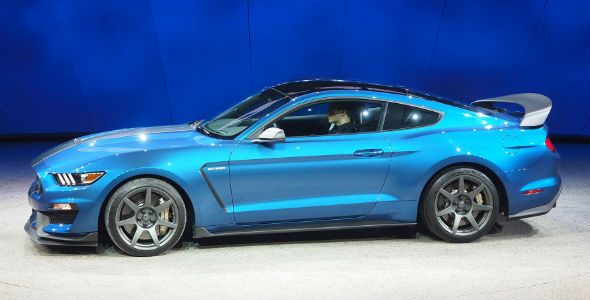 Shelby GT350R Mustang, en el Salón de Detroit