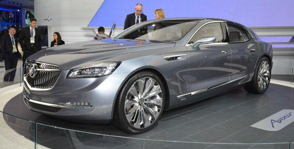 El Buick Avenir Concept destaca en el Salón de Detroit 2015