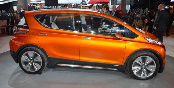 Chevrolet Bolt, eléctrico con más de 300 km de autonomía