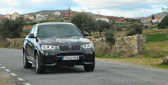 Prueba: BMW X4 xDrive 30d