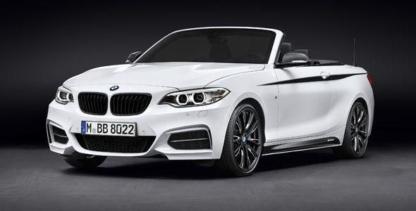 BMW Serie 2 Cabrio, nuevos accesorios M Performance