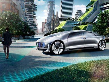 El Mercedes F 015 Luxury in Motion, en vídeo
