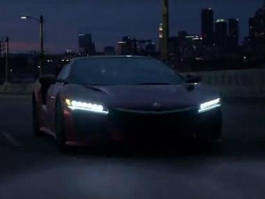 El Honda NSX 2015, en vídeo