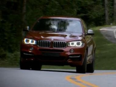 El nuevo BMW X6, en vídeo