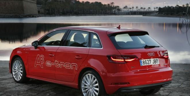 Lo último en tecnología de Audi está presente en este A3 e-tron.