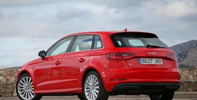 El Audi A3 e-tron solamente está disponible en versión de 5 puertas.