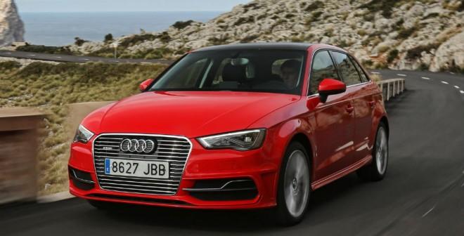 El comportamiento dinámico del Audi A3 Sportback e-tron es una delicia.