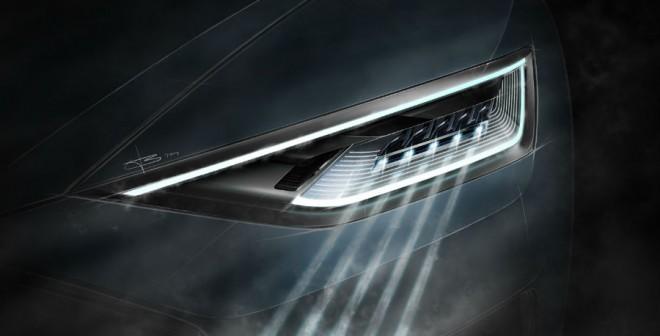 La tecnología láser de los faros es una de las principales novedades del Audi R8.