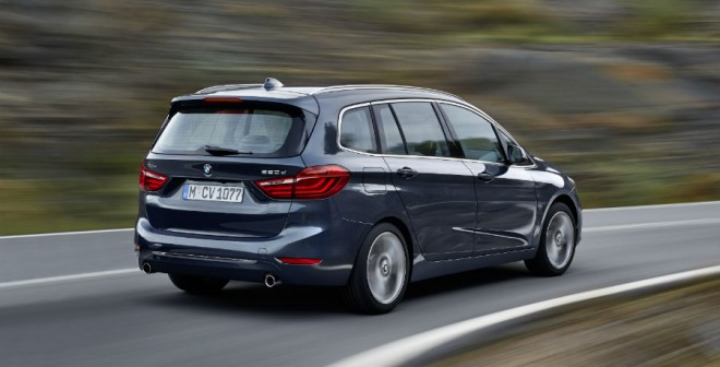 El BMW Serie 2 Gran Tourer contará con cinco motores diferentes en el momento de su lanzamiento.