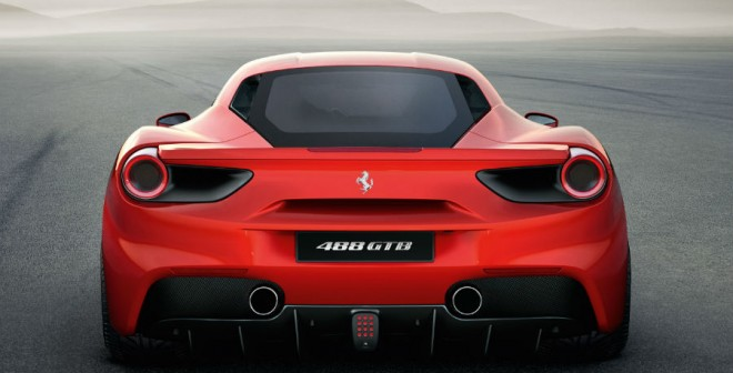 La zaga del Ferrari 488 GTB es realmente innovadora.