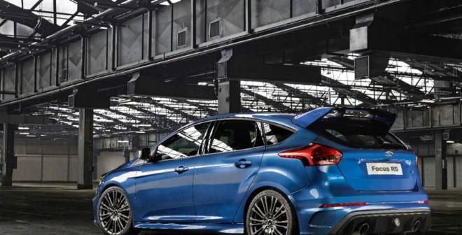 La zaga del nuevo Focus RS mantiene un alerón delantero sobredimensionado como seña de identidad.