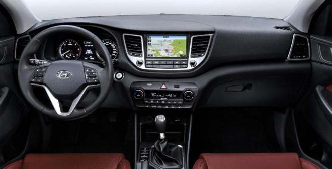El interior del Hyundai Tucson cuenta con un mayor espacio en el interior que su predecesor.
