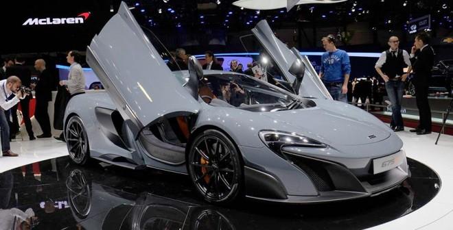 McLaren 675 LT Salón de Ginebra 2015