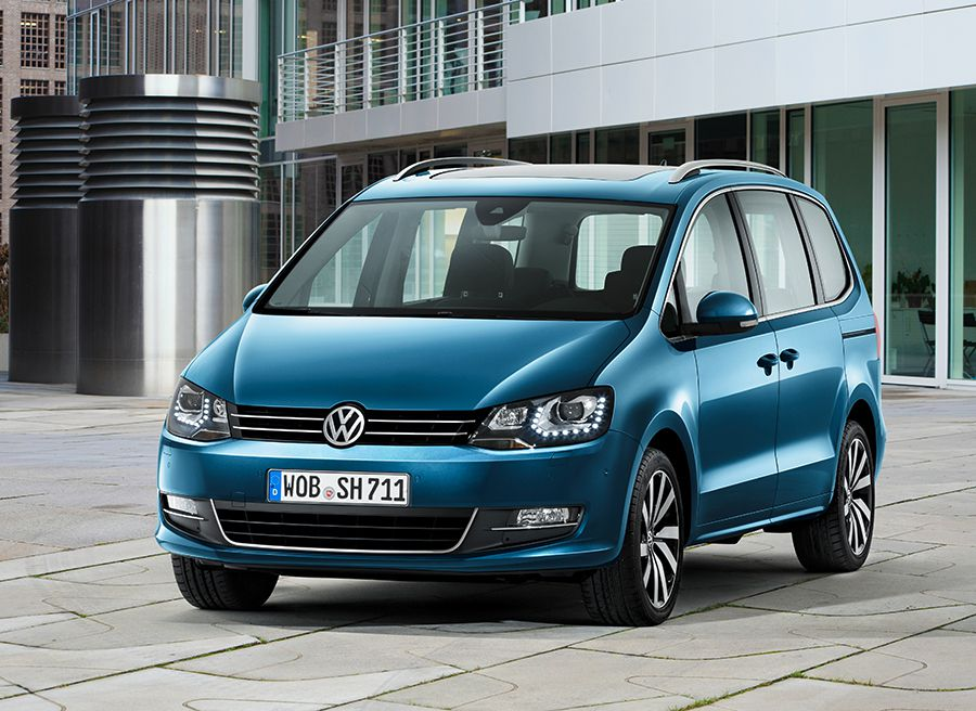 Nuevo VW Sharan Salón Ginebra 2015