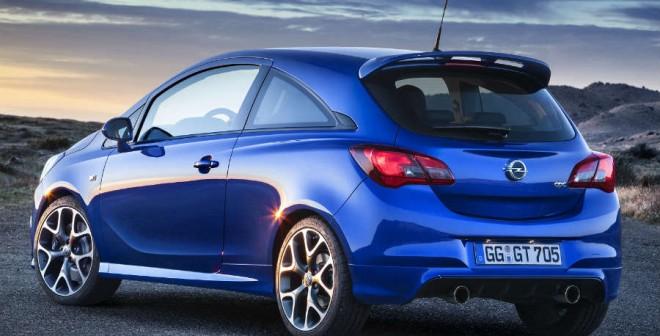 La doble salida de escape es una de las señas de identidad del Opel Corsa OPC.
