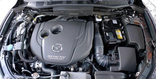 Presentación y prueba del nuevo Mazda CX-5 2015, Motor, Rubén Fidalgo