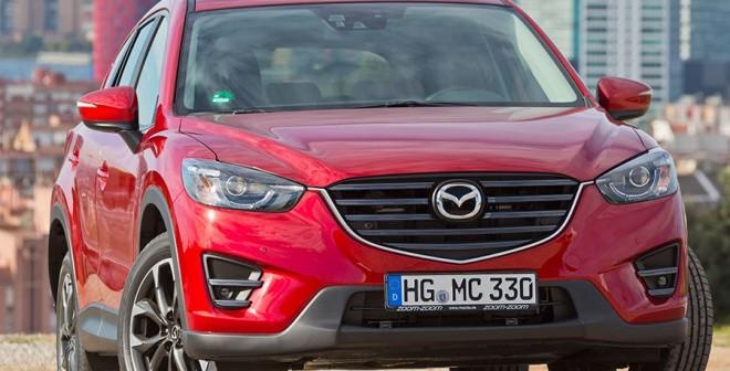 Presentación y prueba del nuevo Mazda CX-5 2015