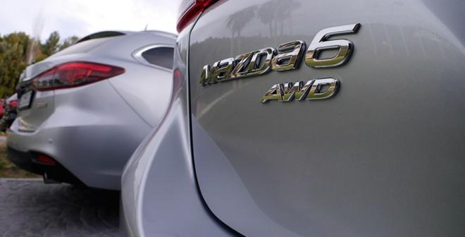 Presentación y prueba nuevo Mazda6 2015, Sitges, Rubén Fidalgo