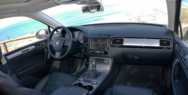 Prueba VW Touareg V6 TDi Bluemotion 2014, interior, Rubén Fidalgo