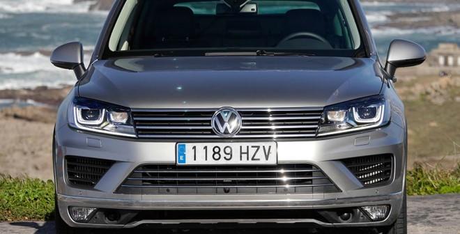 Prueba VW Touareg V6 TDi Bluemotion 2014, Baiona, Rubén Fidalgo