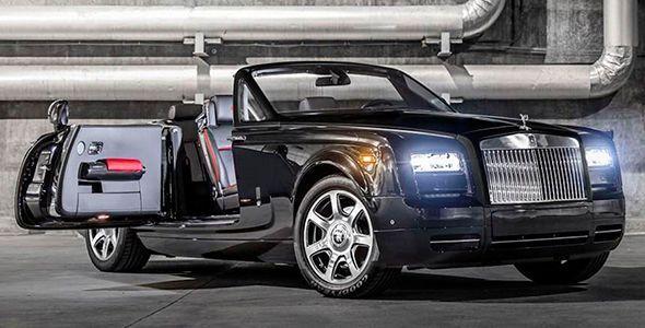 Rolls-Royce Phantom Drophead Coupé Nighthawk, serie limitada