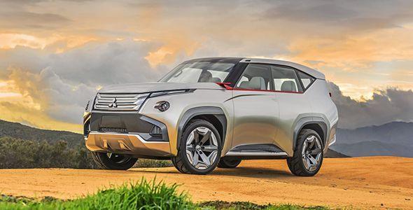 El Mitsubishi GC-PHEV Concept en el Salón de Chicago 2015