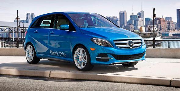 Llegan las variantes eléctrica y de gas natural del Mercedes Clase B