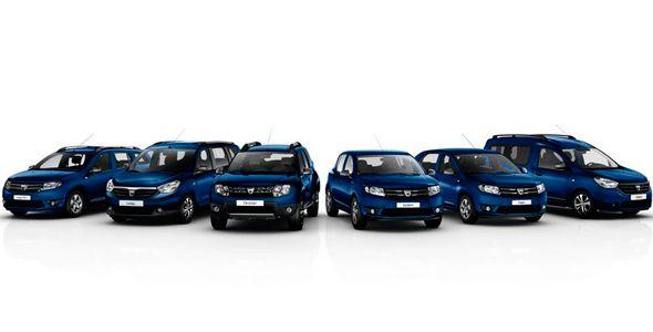 Dacia celebra 10 años de éxitos en el Salón de Ginebra 2015