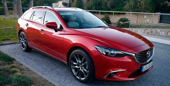Presentación y prueba del nuevo Mazda6 2015