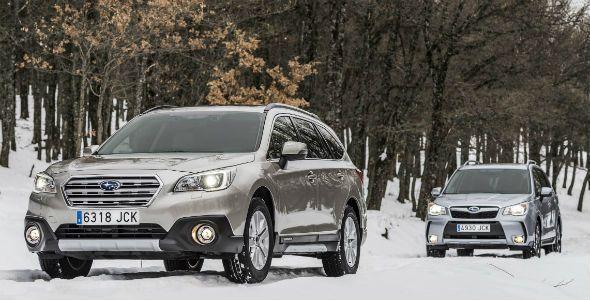 Nuevos Subaru Outback y Subaru Forester: los probamos