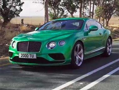 Los nuevos Bentley Continental GT Speed y V8 S 2015 en vídeo
