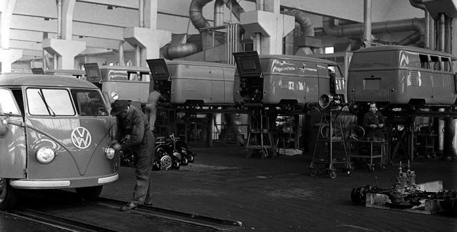 65 años de historia furgo VW